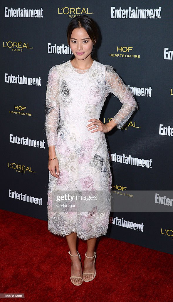 Jamie Chung attends the 2014 Entertainment Weekly Pre-Emmy Party at Fig & Olive Melrose Place on August 23, 2014 in West Hollywood, California.