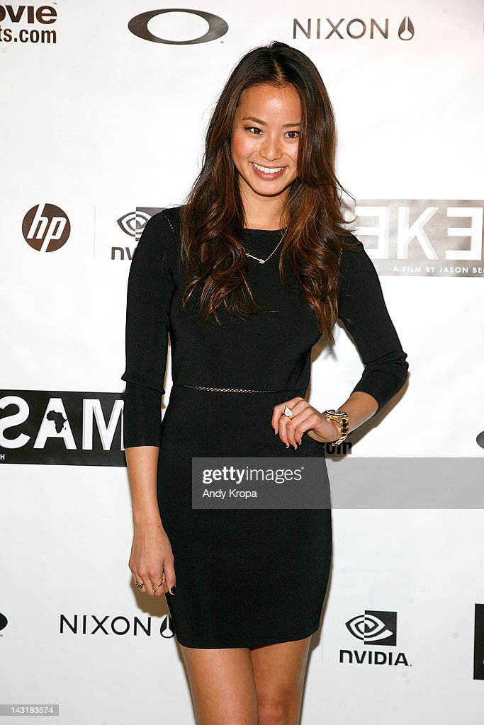 Jamie Chung attends the 'Alekesam' premiere at the Tribeca Grand Hotel on April 20, 2012 in New York City.