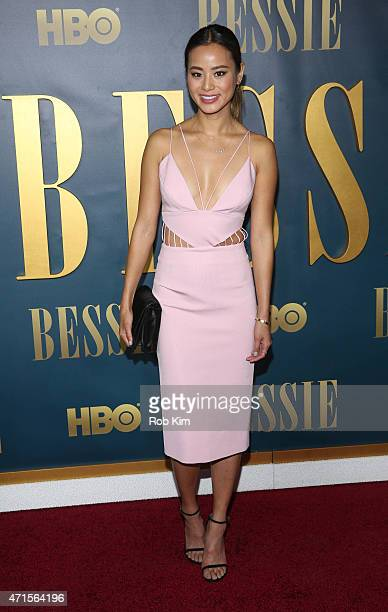 Jamie Chung attends the 'Bessie' New York screening at The Museum of Modern Art on April 29 2015 in New York City