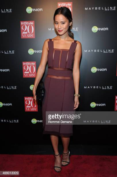 Jamie Chung attends the Instyle Hosts 20th Anniversary Party at Diamond Horseshoe at the Paramount Hotel on September 8 2014 in New York City