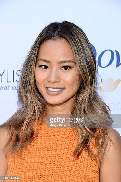 Jamie Chung attends the Simply Stylist Sessions Hosted by Jamie Chung and Dawn McCoy at The Whisper Lounge on October 8 2016 in Los Angeles California