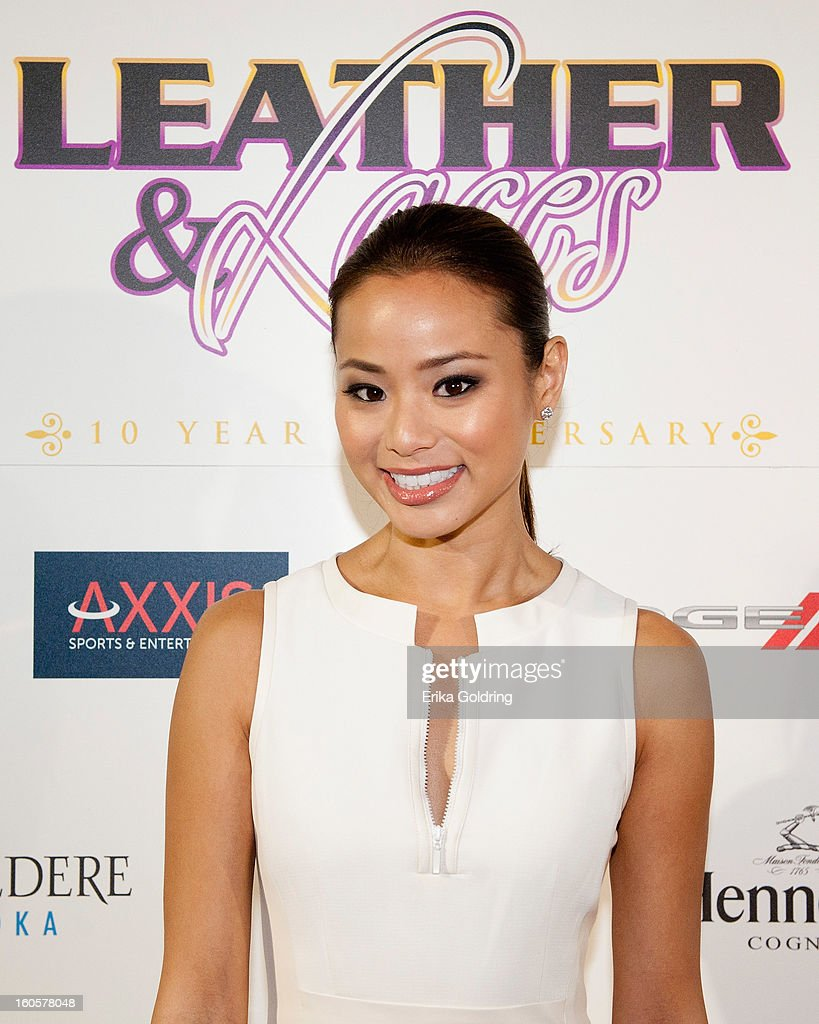 Jamie Chung attends the Tenth Annual Leather & Laces Super Bowl Party on February 2, 2013 in New Orleans, Louisiana.