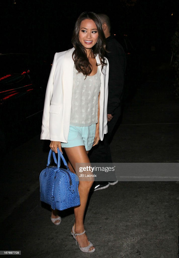 Jamie Chung is seen at Chateau Marmont on April 27, 2013 in Los Angeles, California.