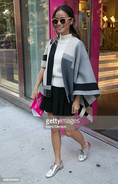 Jamie Chung visits Charming Charlie flagship store on 5th Avenue on September 15 2015 in New York City