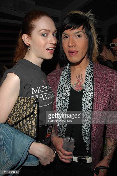 Jamie Clayton and Astro attend MAURICIO PADILHA Birthday Party hosted by ROGER PADILHA PHILLIPE BLOND and DAVID BLOND at Highbar NYC on May 27 2008