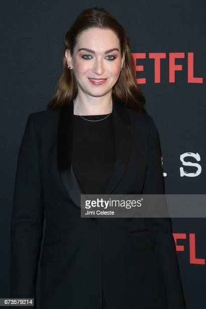 Jamie Clayton attend the Season 2 Premiere of Netflix's 'Sense8' at AMC Lincoln Square Theater on April 26 2017 in New York City