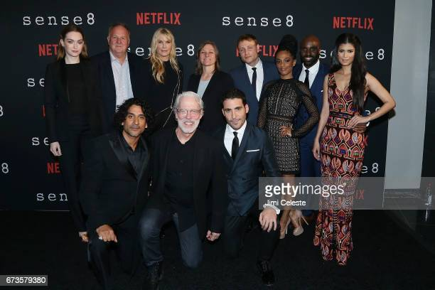 Jamie Clayton Grant HIll Naveen Andrews Daryl Hannah Terrence Mann Cindy Holland Miguel Angel Silvestre Max Riemelt Freema Agyeman Toby Onwumere and...