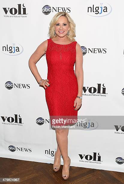 Jamie Colby attends the 19th Annual National Lesbian And Gay Journalists Association New York Benefit at The Prince George Ballroom on March 20 2014...