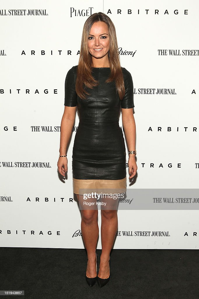 Jamie Colby attends the 'Arbitrage' New York Premiere at Walter Reade Theater on September 12, 2012 in New York City.