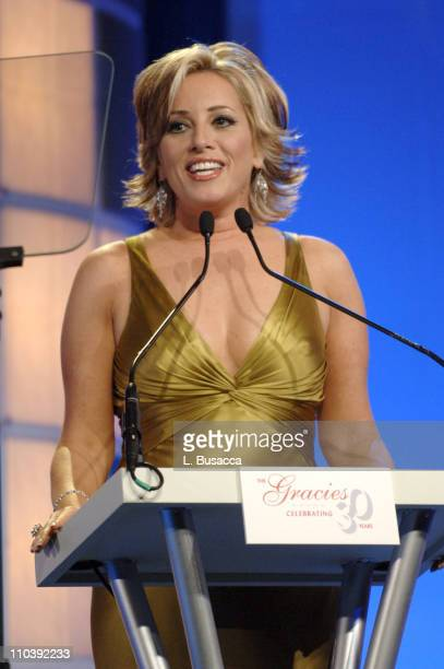 Jamie Colby during American Women in Radio Television 30th Annual Gracie Allen Awards Show at New York Marriot Marquis Hotel in New York City New...