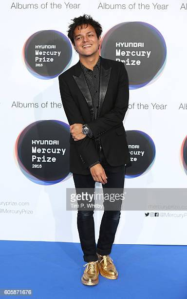 Jamie Cullum a judge for this years prize poses for a photo at the Hyundai Mercury Prize 2016 at Eventim Apollo on September 15 2016 in London England