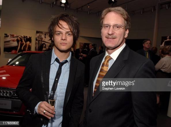 Jamie Cullum and Johan de Nysschen Audi President