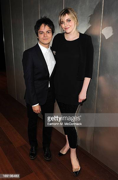 Jamie Cullum and Sophie Dahl attend the launch of Jamie Cullum's new album 'Momentum'The Shard on May 21 2013 in London England