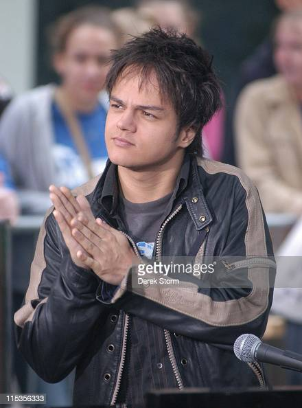 Jamie Cullum during Jamie Cullum Performs at The 'Today Show' Summer Concert Series Upcoming Stars at The Plaza in New York City New York United...