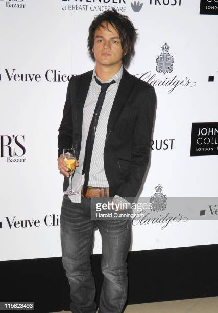 Jamie Cullum during Lavender Trust Party Inside Arrivals at Claridges Hotel in London United Kingdom