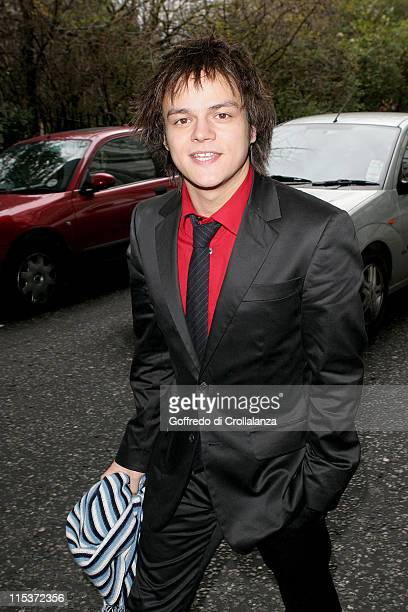 Jamie Cullum during The South Bank Show Awards Arrivals at The Savoy Hotel in London United Kingdom