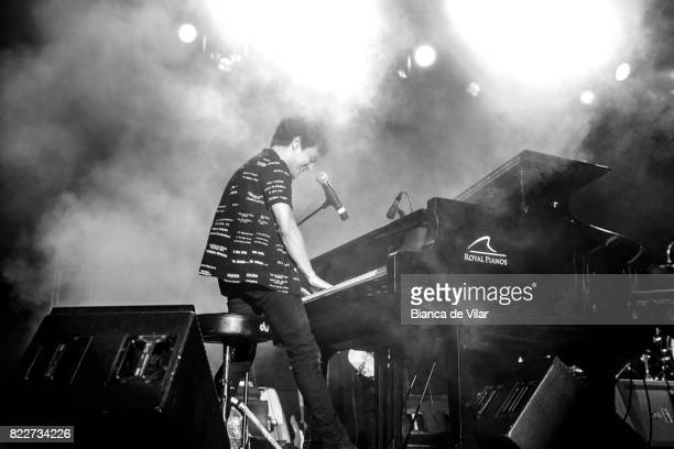 Jamie Cullum performs in Concert in Castillo Sohail Fuengirola on July 25 2017 in Fuengirola Spain