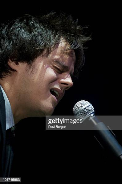 Jamie Cullum performs on stage at Heineken Music Hall on June 7 2010 in Amsterdam Netherlands
