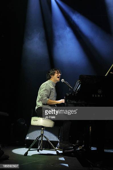 Jamie Cullum performs on stage at The Roundhouse on October 22 2013 in London England