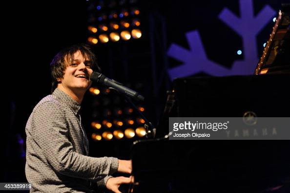 Jamie Cullum performs on stage for Magic Sparkle Gala at Indigo2 at O2 Arena on December 3 2013 in London United Kingdom