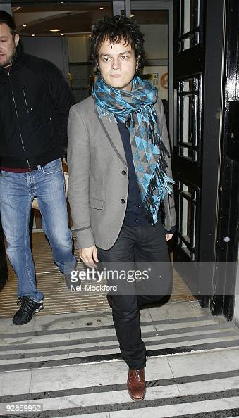 Jamie Cullum sighted leaving BBC Radio 2 on November 6 2009 in London England