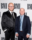 Jamie Dailey and Darrin Vincent of Dailey Vincent attend the 61st annual BMI Country awards on November 5 2013 in Nashville Tennessee
