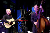 Jamie Dailey and Darrin Vincent of Dailey Vincent perform at the APA Party during Day 1 of the IEBA 2015 Conference on October 11 2015 in Nashville...