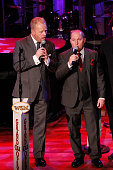 Jamie Dailey and Darrin Vincent of Dailey Vincent perform at The Grand Ole Opry at Ryman Auditorium on November 11 2014 in Nashville Tennessee