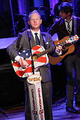 Jamie Dailey of Dailey Vincent performs at The Grand Ole Opry at Ryman Auditorium on November 11 2014 in Nashville Tennessee