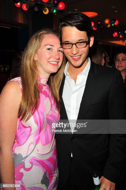 Jamie Davidson and Nicholas Brown attend ASSOCIATION to BENEFIT CHILDREN hosts COCKTAILS IN CANDYLAND at Dylan's Candy Bar on June 18 2009 in New...