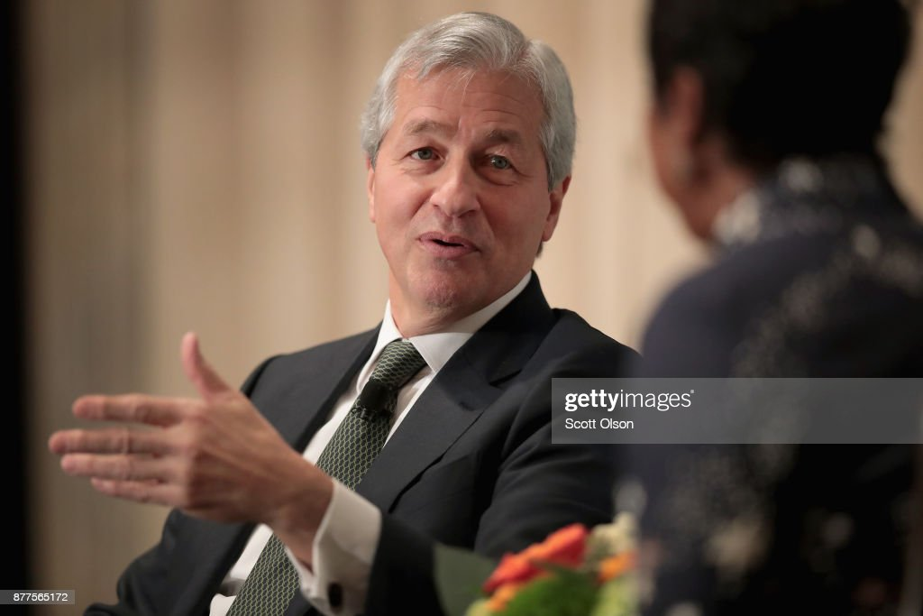 JPMorgan Chase  CEO Jamie Dimon Speaks At Economic Club of Chicago