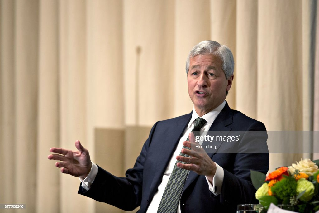 JPMorgan Chase & Co. CEO Jamie Dimon Speaks At The Economic Club Of Chicago