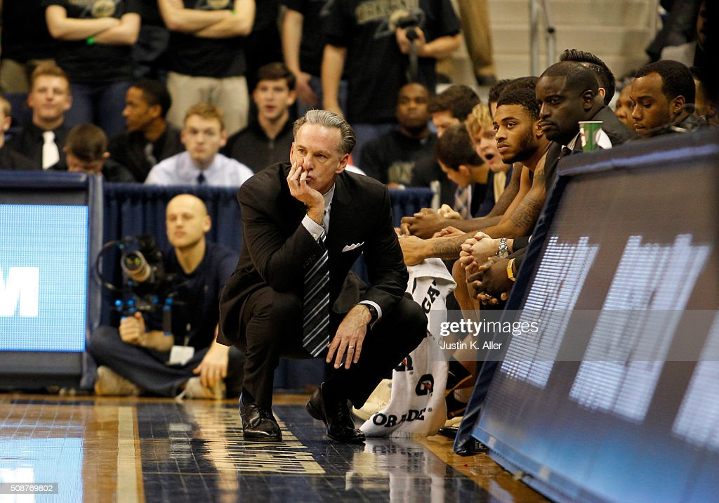 <a gi-track='captionPersonalityLinkClicked' href=/galleries/search?phrase=Jamie+Dixon&family=editorial&specificpeople=234974 ng-click='$event.stopPropagation()'>Jamie Dixon</a> of the Pittsburgh Panthers looks on from the bench during the game against the Virginia Cavaliers at Petersen Events Center on February 6, 2016 in Pittsburgh, Pennsylvania.