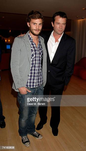Jamie Dornan and James Purefoy attend a charity evening in aid of CLIC Sargent at the Sanderson Hotel on May 15 2007 in London England
