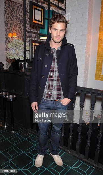 Jamie Dornan attends Odette's Restaurant 30th Birthday Dinner on November 24 2008 in London England