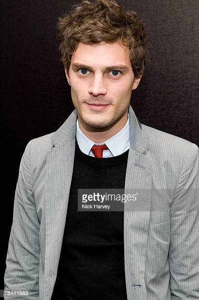 Jamie Dornan attends the DKNY Night Fragrance launch on December 12 2007 in London England