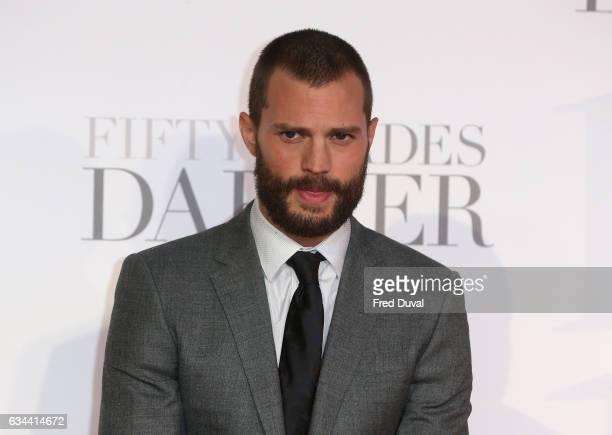 Jamie Dornan attends the 'Fifty Shades Darker' UK Premiere on February 9 2017 in London United Kingdom
