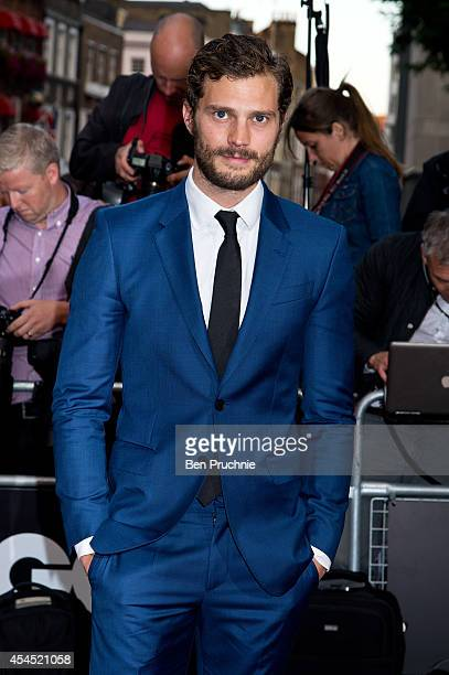 Jamie Dornan attends the GQ men of the year awards at The Royal Opera House on September 2 2014 in London England