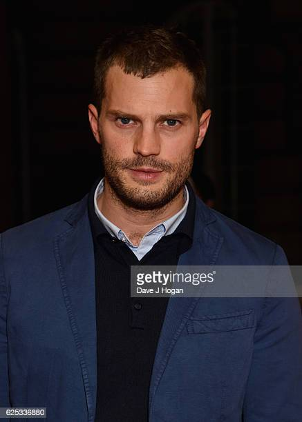 Jamie Dornan attends the UK film premiere of 'Mum's List' at The Curzon Mayfair on November 23 2016 in London England