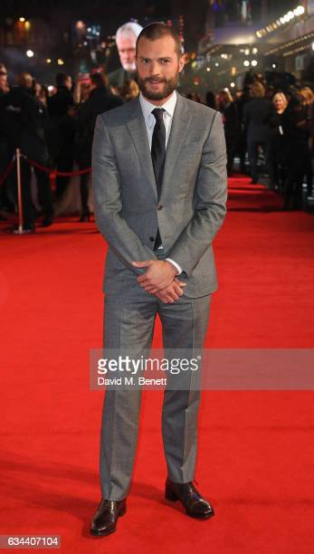 Jamie Dornan attends the UK Premiere of 'Fifty Shades Darker' at Odeon Leicester Square on February 9 2017 in London United Kingdom