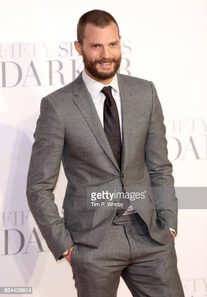 Jamie Dornan attends the UK Premiere of 'Fifty Shades Darker' at the Odeon Leicester Square on February 9 2017 in London United Kingdom