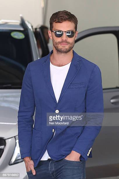 Jamie Dornan seen at the ITV Studios on August 30 2016 in London England