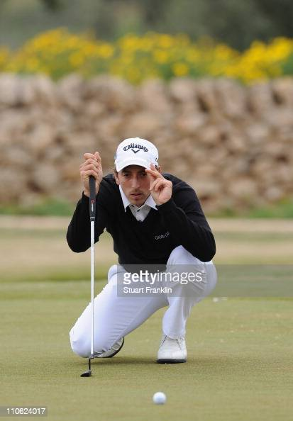 Jamie Elson of England during the final round of the Sicilian Open at the Donnafugata golf resort and spa on March 21 2011 in Ragusa Italy