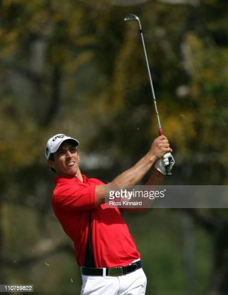 Jamie Elson of England during the first round of the Open de Andalucia at the Parador de Malaga Golf Course on March 24 2011 in Malaga Spain