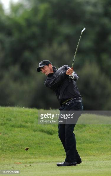 Jamie Elson of England in action during Round Three of the SaintOmer Open at The Aa St Omer Golf Club on June 19 2010 in Lumbres France