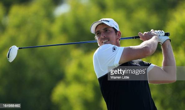 Jamie Elson of England in action during the second round of the Trophee du Hassan II at Golf du Palais Royal on March 29 2013 in Agadir Morocco