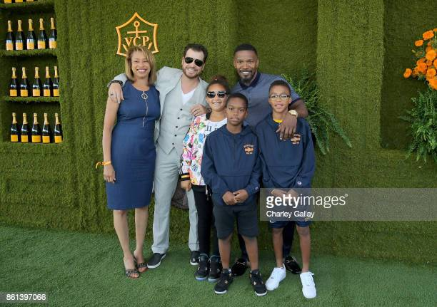 Jamie Foxx and family at the Eighth Annual Veuve Clicquot Polo Classic on October 14 2017 in Los Angeles California