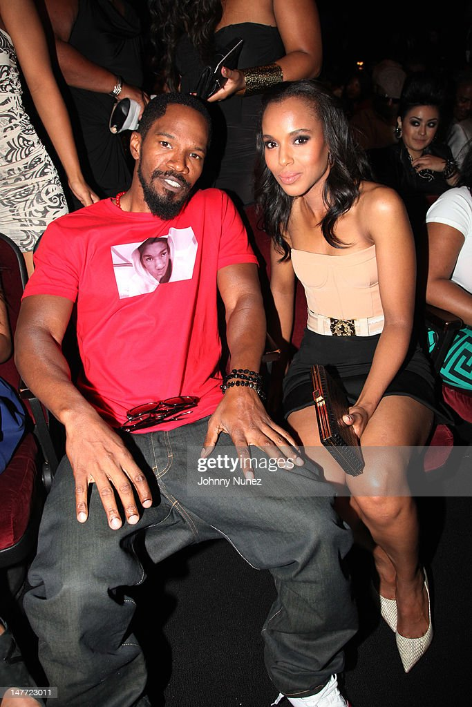 <a gi-track='captionPersonalityLinkClicked' href=/galleries/search?phrase=Jamie+Foxx&family=editorial&specificpeople=201715 ng-click='$event.stopPropagation()'>Jamie Foxx</a> and <a gi-track='captionPersonalityLinkClicked' href=/galleries/search?phrase=Kerry+Washington&family=editorial&specificpeople=201534 ng-click='$event.stopPropagation()'>Kerry Washington</a> attend the 2012 BET Awards at The Shrine Auditorium on July 1, 2012 in Los Angeles, California.