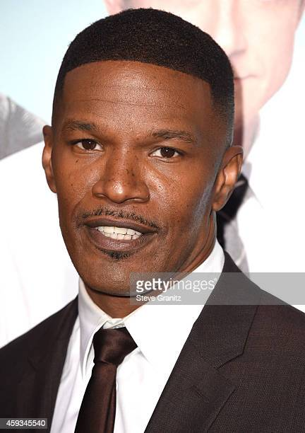 Jamie Foxx arrives at the 'Horrible Bosses 2' Los Angeles Premiereat TCL Chinese Theatre on November 20 2014 in Hollywood California