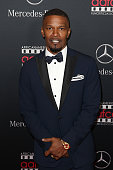 Jamie Foxx arrives at the MercedesBenz and African American Film Critics Association Oscar viewing party at Four Seasons Hotel Beverly Hills on...